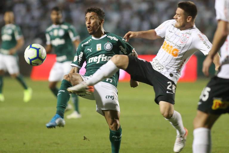 Corinthians e Palmeiras disputam o dérbi nesta quarta (22), em Itaquera, na volta do Campeonato Paulista