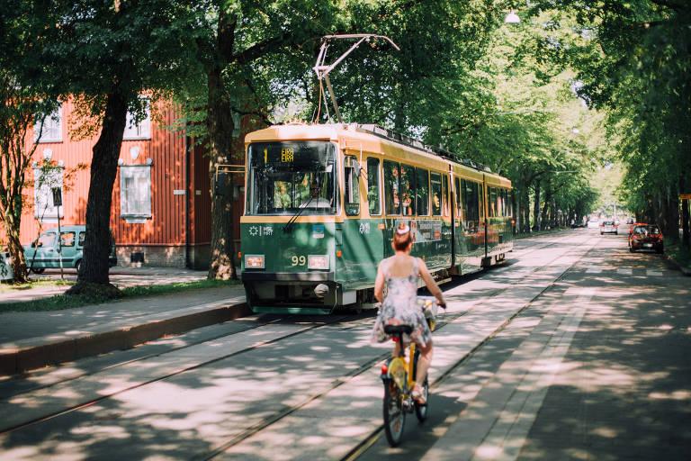 Helsinque, na Finlândia, um dos países com maior igualdade de gênero do mundo