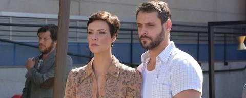 Sophia (Camila Rodrigues) e Antonio (Felipe Cunha) em