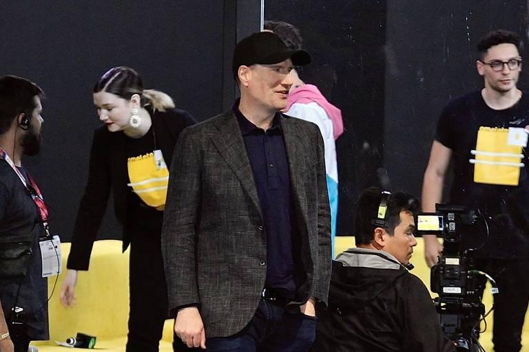 Kevin Feige na CCXP 2019