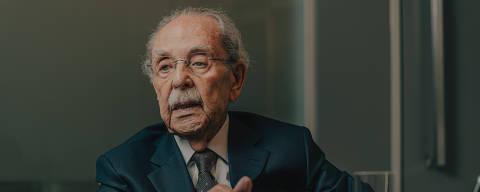 São Paulo, SP, Brasil, 27-11-2019: Mário Sérgio Duarte Garcia, advogado, que foi presidente da OAB na ditadura. (foto Gabriel Cabral/Folhapress)