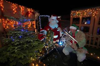 Christmas village of
