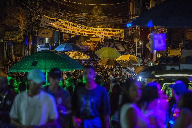 Baile da DZ7 em Paraisópolis
