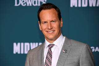 Patrick Wilson attends the premiere of