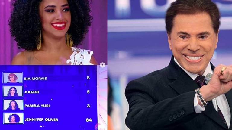 A cantora Jennyfer Oliver, desprezada por Silvio em seu programa no SBT