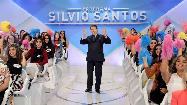 Imagens do Programa Silvio Santos