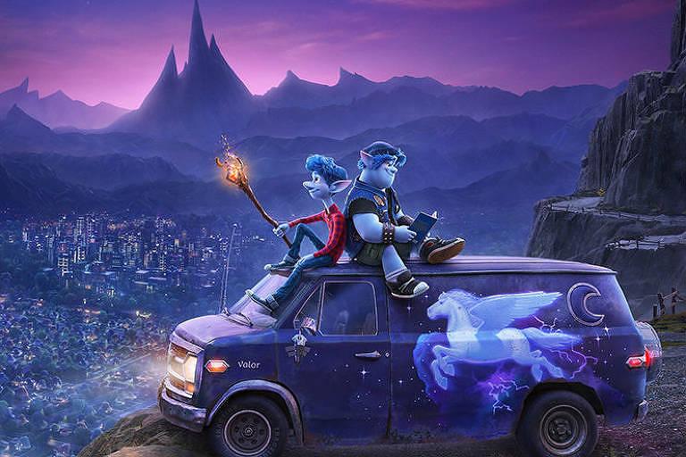 Cartaz oficial do filme ''Dois Irmãos: Uma Jornada Fantástica''