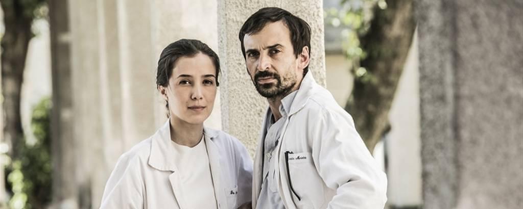 Carolina e Evandro voltam para segunda temporada de 'Sob Pressão'