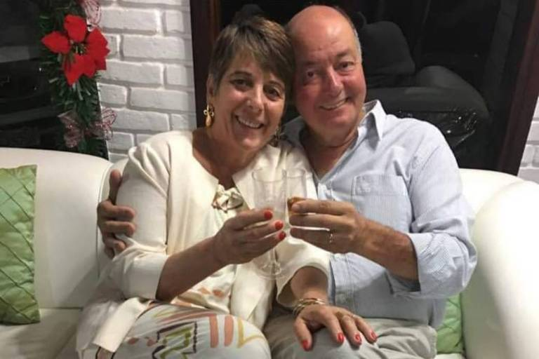 José Dias Ferreira Neto (1951-2019) e a esposa