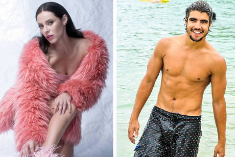 Paolla Oliveira e Caia Castro