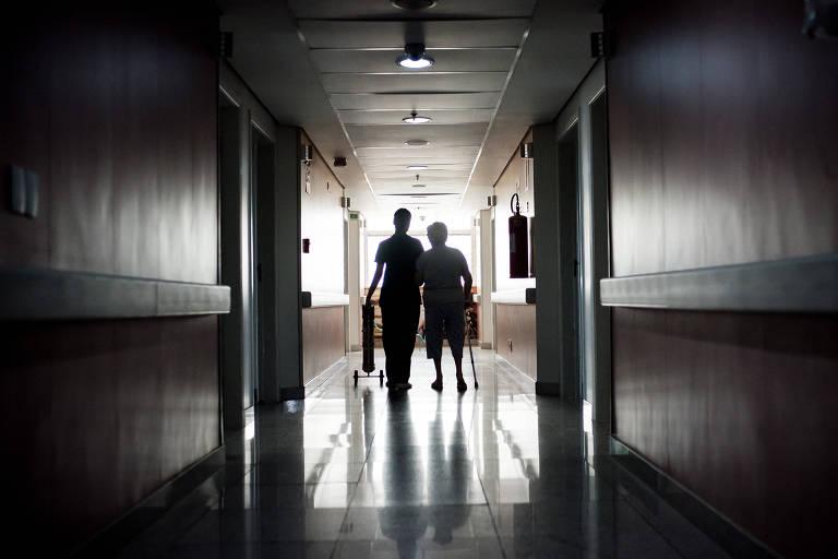 Hospital da Unimed, no bairro Santa Efigênia, em Belo Horizonte (MG)