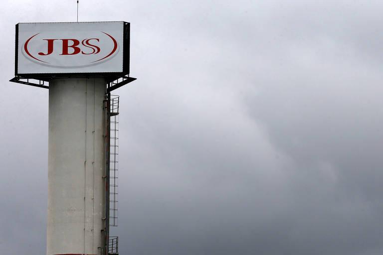 O logo da JBS em Jundiaí
