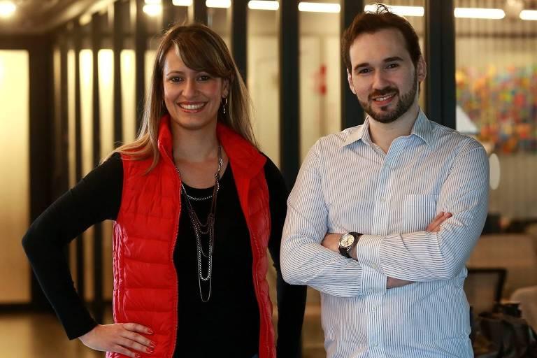 Tatiana Pimenta e Everton Höpner, fundadores da Vittude