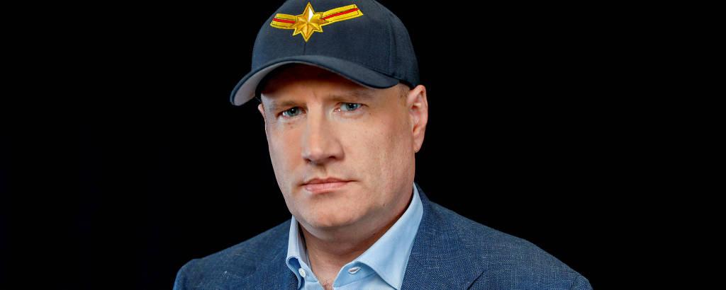 O presidente da Marvel, Kevin Feige