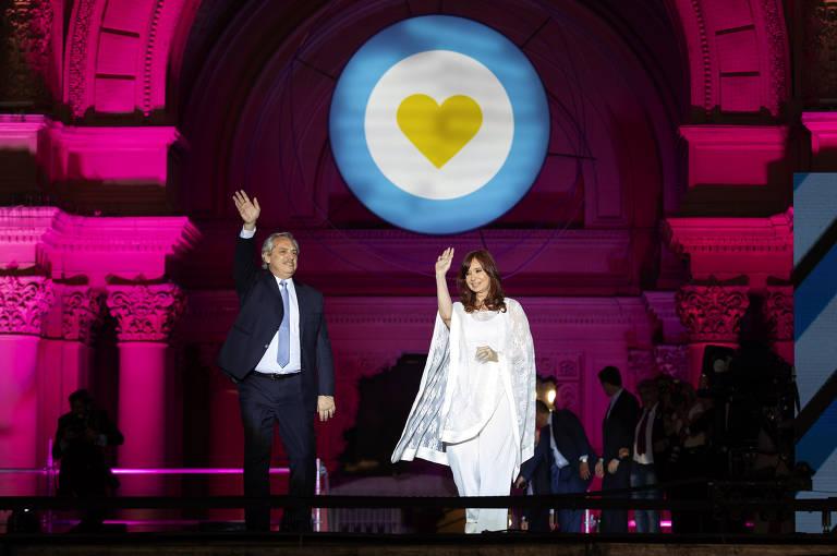 Veja fotos da cerimônia de posse de Alberto Fernández