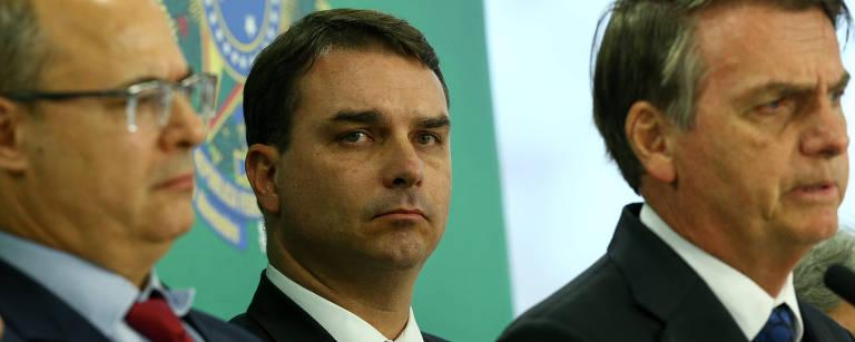 PM assessor de Flávio tem boom patrimonial e declara metade em dinheiro vivo