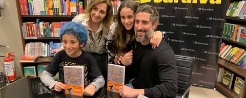 Marcos Mion lança seu terceiro livro em homenagem aos filhos