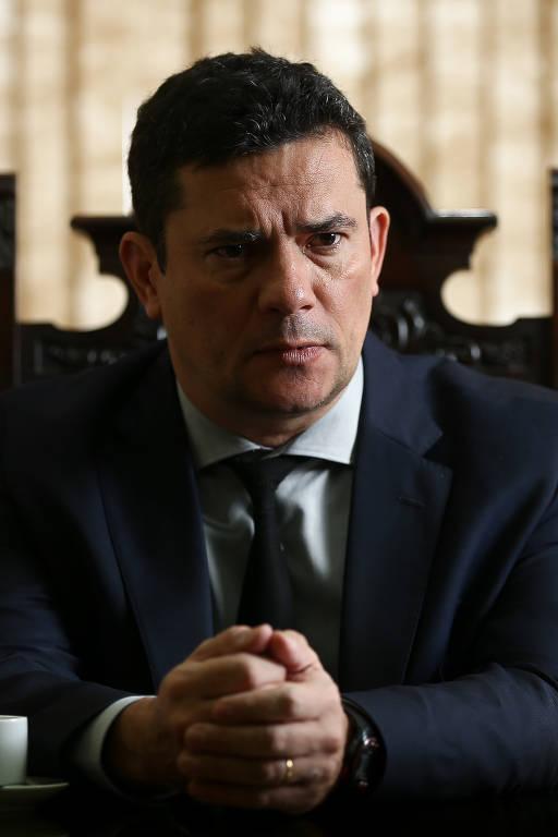 Sergio Moro em entrevista à Folha, em dezembro