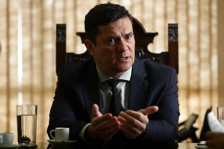 Veja frases de Sergio Moro em entrevista à Folha