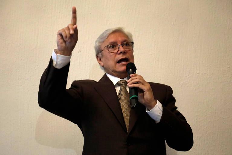 Jaime Bonilla, governador da província de Baja California