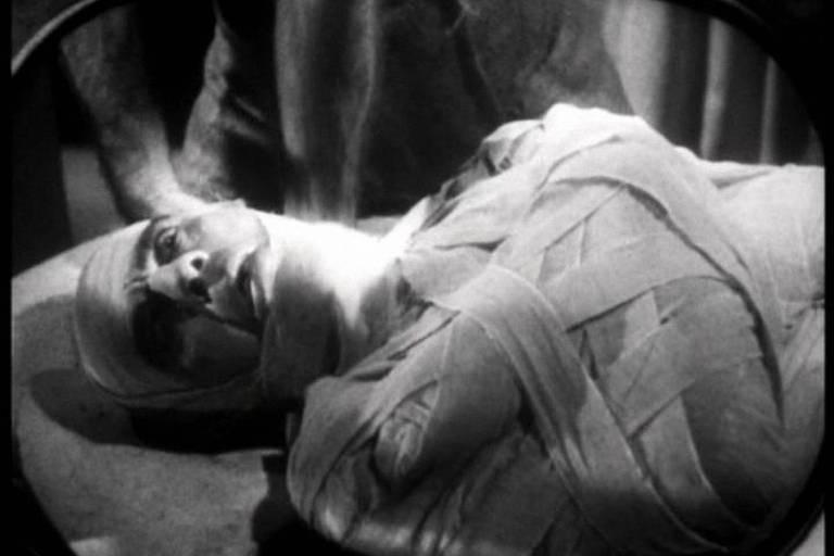 Cena de 'A Múmia' (1932)