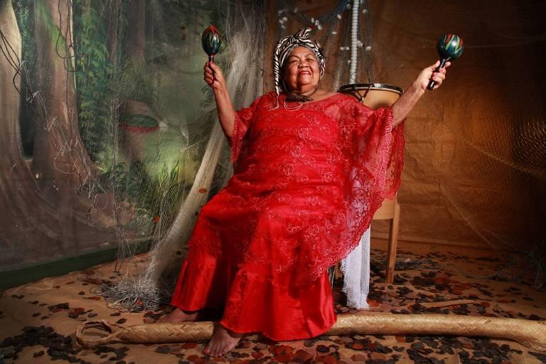 A cantora paraense Dona Onete