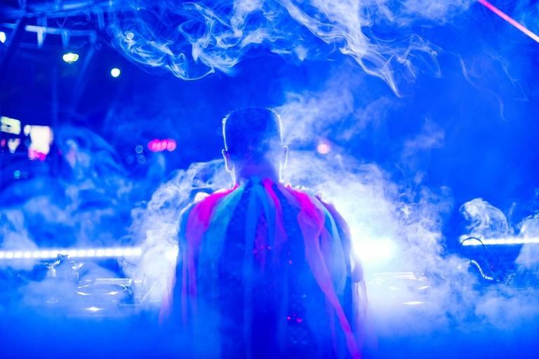 O DJ Trepanado, da festa Selvagem