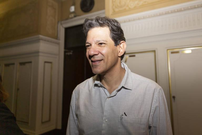 Fernando Haddad, ex-prefeito de São Paulo; petista se reuniu com cerca de 20 empresários