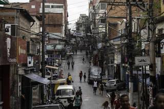 Movimentação Comunidade Paraisópolis