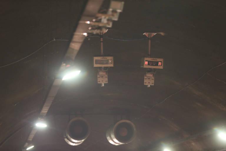 Quatro túneis da capital paulista vão ganhar radares de velocidade