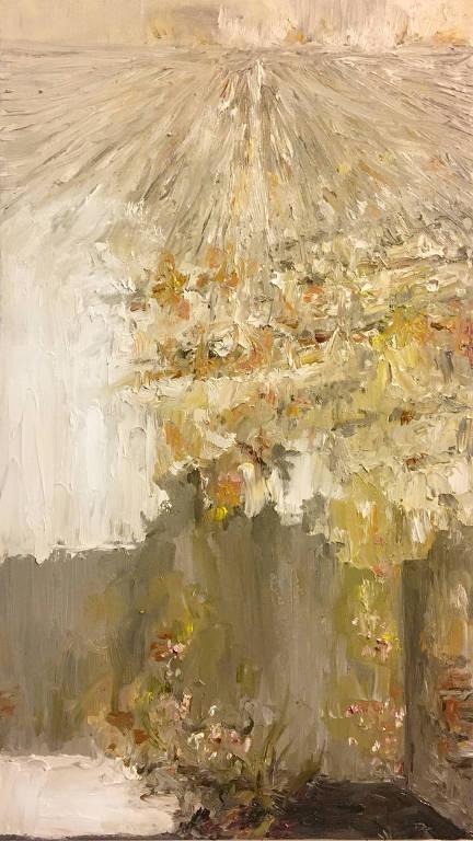 pintura em dourado