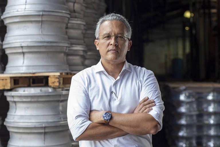 O administrador Max Mustrangi, fundador da consultoria Excellance, em SP