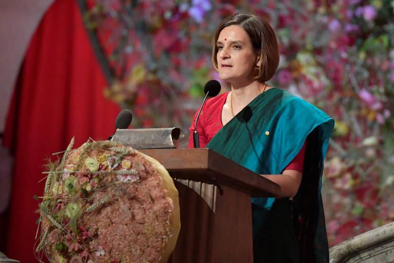 Esther Duflo, ganhadora mais jovem do prêmio Nobel de economia