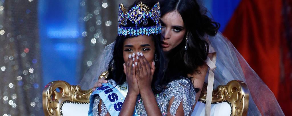 Toni-Ann Singh, da Jamaica, vence o Miss Mundo 2019, em Londres