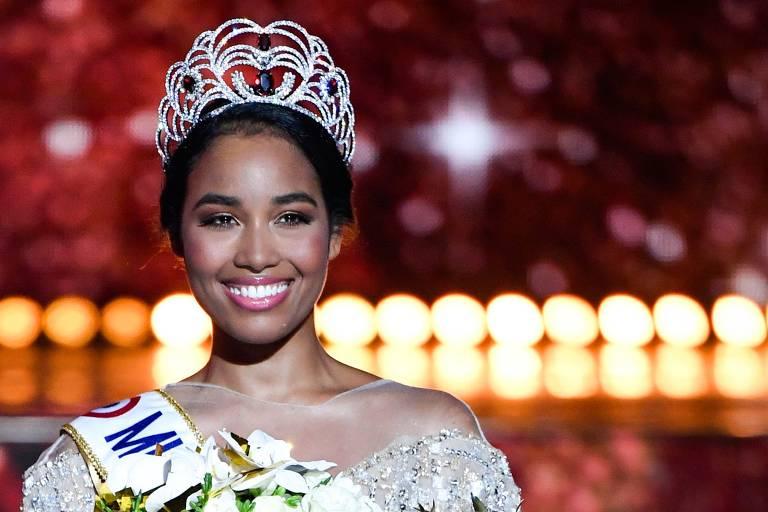 Miss Guadalupe, Clemence Botino, vence a final do Miss França 2020, em Marselha