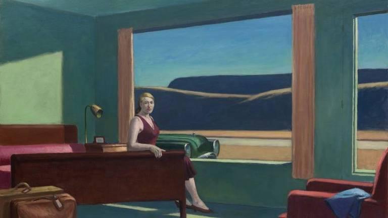 A tela 'Western Motel', de Edward Hopper