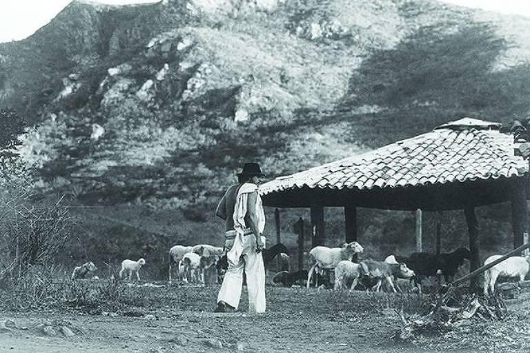 Elomar na Fazenda Casa dos Carneiros, que fica no povoado da Gameleira