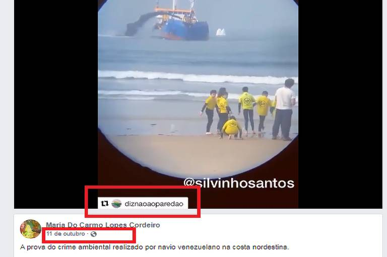"""Print de mesma imagem viralizada, porém com marca d'água da conta de Instagram """"Diz Não Ao Paredão"""","""