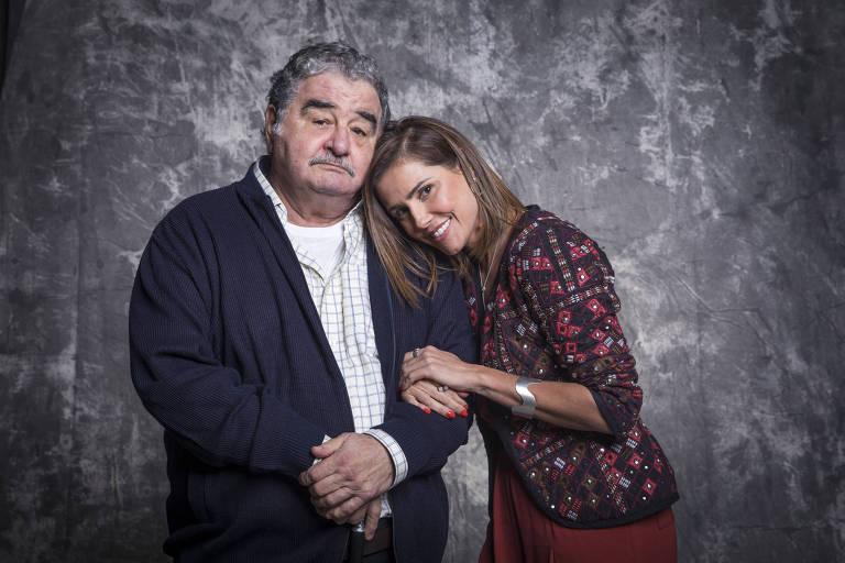 Ignácio ( Otávio Augusto ) e Alexia ( Deborah Secco )