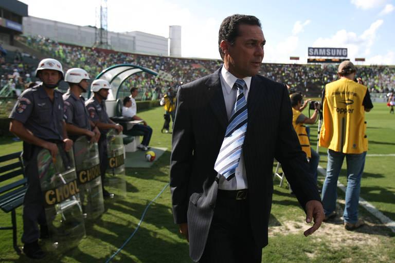 A trajetória de Luxemburgo no Palmeiras