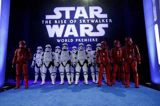 Premiere of ?Star Wars: The Rise of Skywalker?