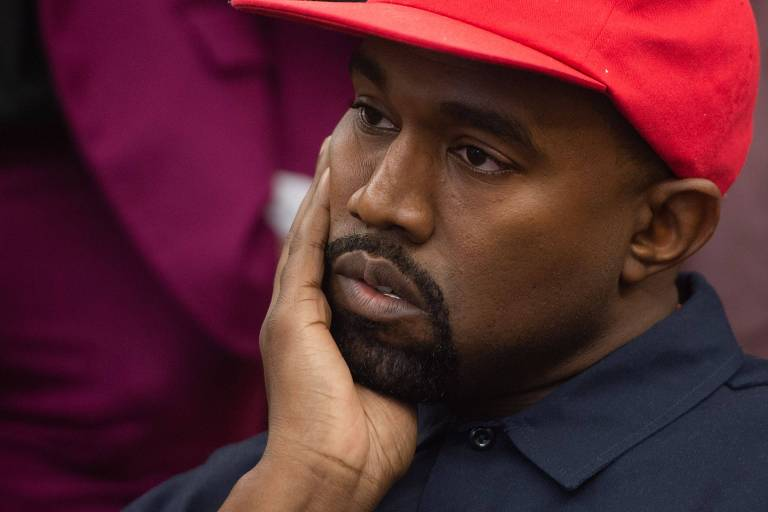Veja imagens do rapper Kanye West