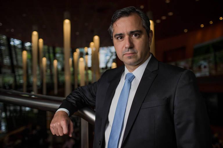 O presidente da ANS (Agência Nacional de Saúde), Leandro Fonseca da Silva