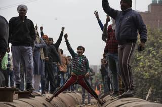 INDIA-NEW DELHI-PROTESTS-NEW CITIZENSHIP ACT