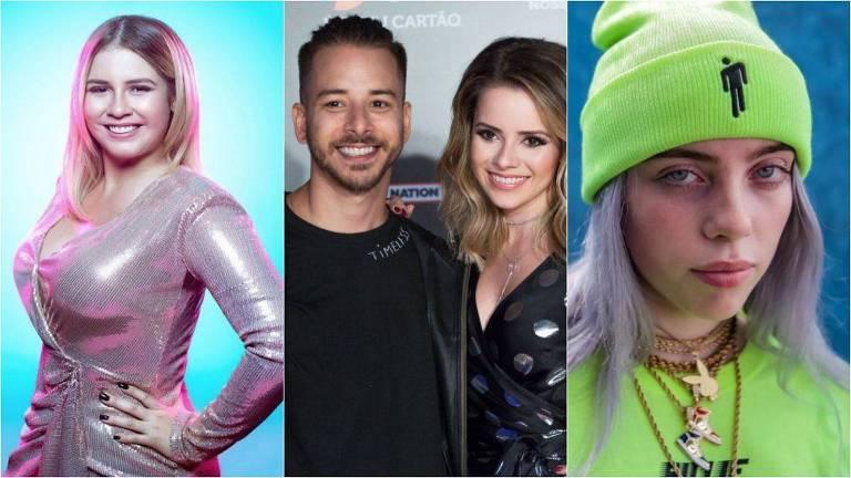 Destaques da música de 2019: Marília Mendonça, Sandy e Junior e Billie Eilish