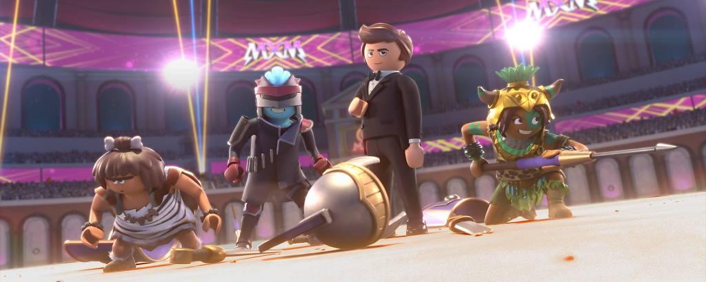 Personagens de Playmobil - o Filme