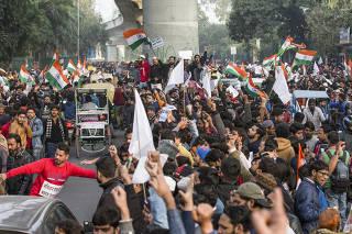 INDIA-NEW DELHI-NEW CITIZENSHIP ACT-PROTEST