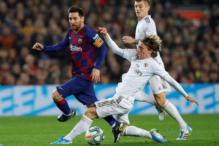 Clássico espanhol terminou sem gols na Catalunha