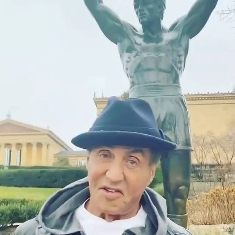 Estátua Rocky Balboa