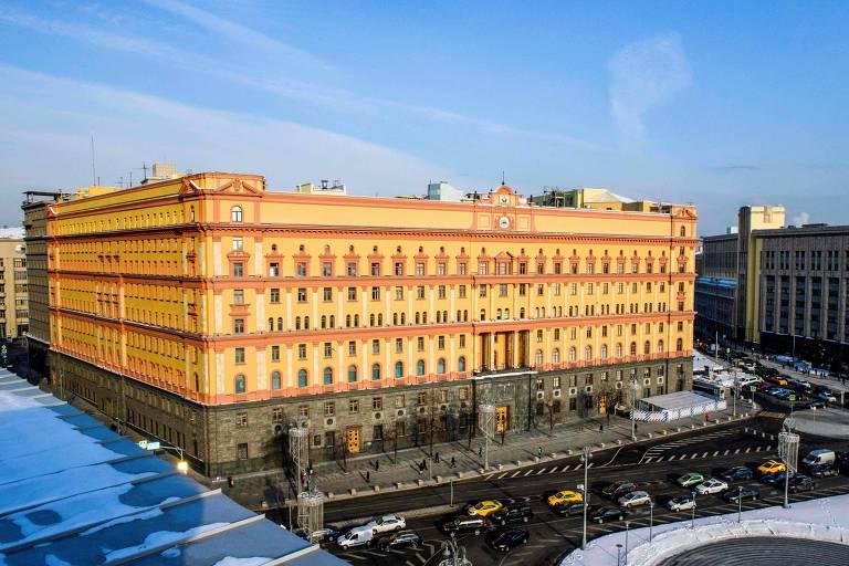 Foto de arquivo mostra o prédio do FSB, que herdou o edifício que sediava a antiga KGB em Moscou